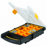 15 Bin Portable Parts Storage Case