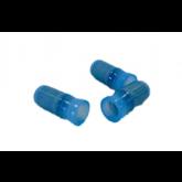 AMP PN: 324486  -  16-14G End Splice Conn. Blue