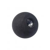 "Comfort-Grip Ball Knob, 1/4""-20 Thread, 1"" Diameter"