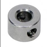 "6432K17 - Set Screw Shaft Collar for 1/8"" Diameter, Zinc-Plated Steel"