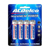 ACDelco Alkaline Batteries - 4 pack - AA
