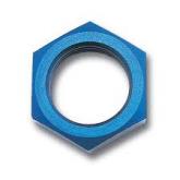 AN924-3D - Bulkhead Nut - Tube OD: 3/16 - Aluminum (alt part # AS5178D03)