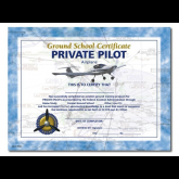 Private Pilot Ground School Certificate / 10Pack