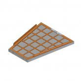 BA2705 - Brackett Air Filter Element