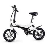 Jupiter Discovery X5 Folding Electric Bike - White