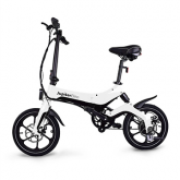 Refurbished Jupiter Discovery X5 Folding Electric Bike - White