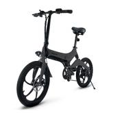 Jupiter Discovery X7 Folding Electric Bike - Gray