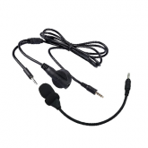 Crystal Mic for aviation with high gain microphone