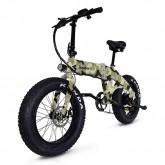 Jupiter Bike - Defiant Fat Tire Electric Bike - Camo