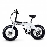 Jupiter Bike - Defiant Fat Tire Electric Bike - White