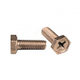 NAS1096-3-8 - Hex Head Screw - recessed - full thread - cadmium plated alloy steel - 10-32 x 1/2