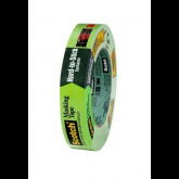 3M™ 2060 - Scotch® Masking Tape for Hard-to-Stick Surfaces, 3/4 x 60 Yards Green