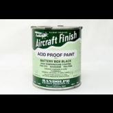 Paint - Acid Proof Black Randolph - 20-345 - Quart