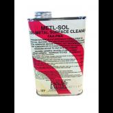 Metl-Sol - Metal Surface Cleaner Poly-Fiber - C-2200 - Quart
