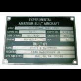 Experimental A/C Metal Plate