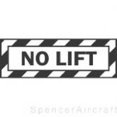 PILNOLIFT - No Lift Decal
