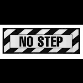 No Step Decal