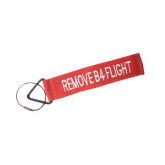 Luggage Tag - Remove Before Flight Red/White