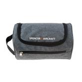 Spencer Aircraft Dopp Bag Grey