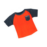 Spencer Aircraft Kids Orange Shirt - Size 24