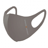 Spencer Aircraft Waterproof Face Mask, Grey, One Size