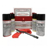 Met-L-Chek1000 - Met-L-Chek Penetrant Inspection Kit, 4-can kit: VP-30 qty 1, D-70 qty 1, E-59A qty 2 - in a metal case